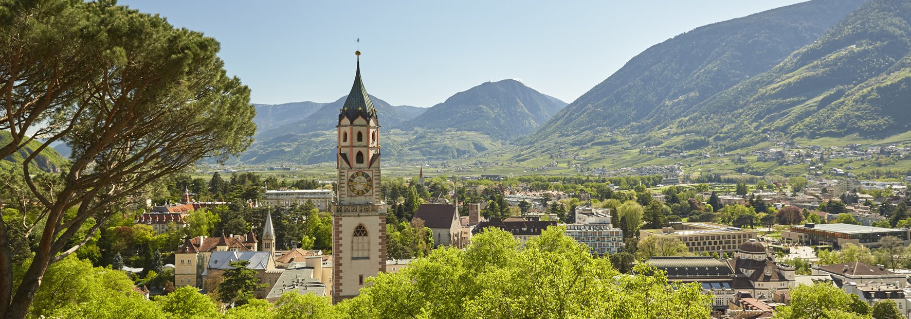 Discover the Mediterranean city of Meran